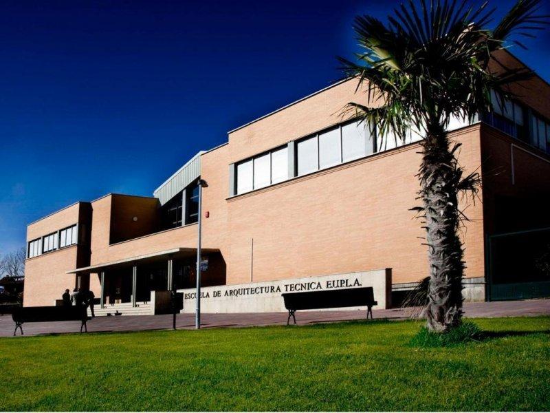 Imagen de uno de los edificios del Campus de La Almunia