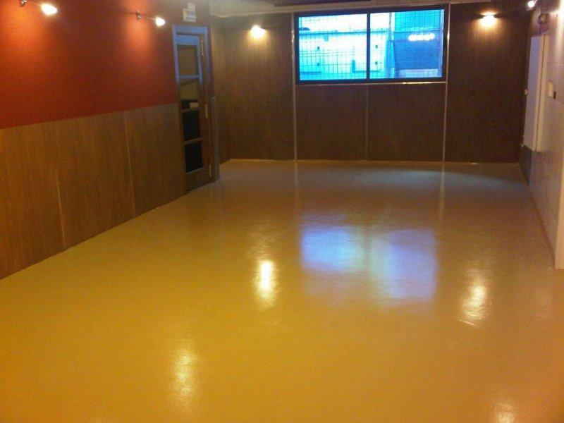 pavimento salón restaurante