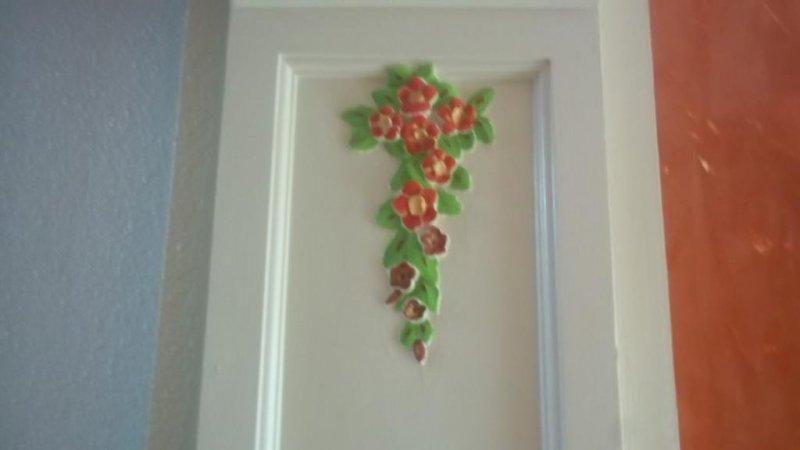 motivos florales de escayola