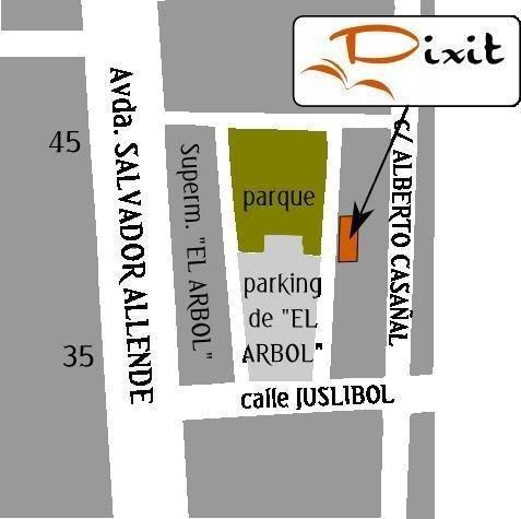 Localización de la Academia Dixit