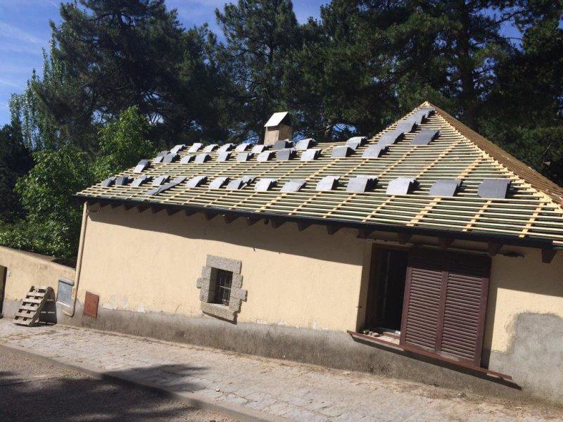 Reparación de tejados de pizarra
