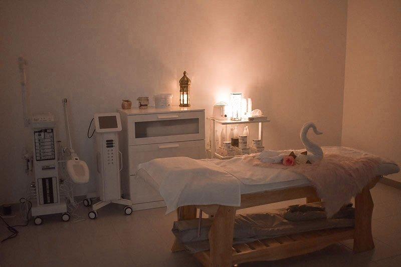 cabina de estética y spa