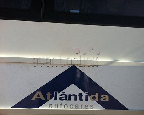Logo de atlantida autocares