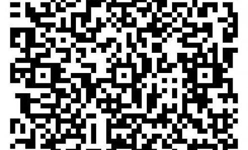 Código QR con todos los datos de contacto de Manjón s.l.u