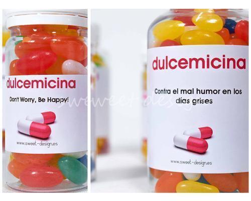 Medicinas dulces personalizadas