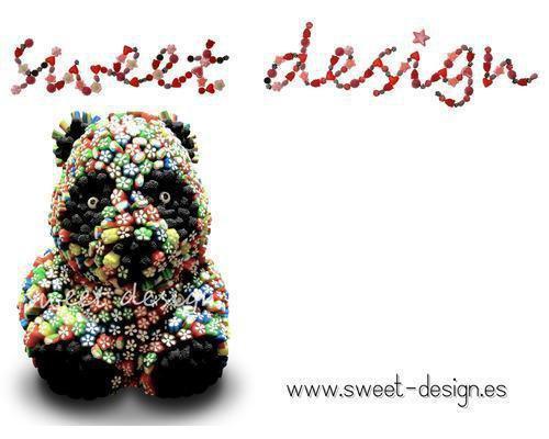 Nuestra mascota sweety! escultura 100% dulce!