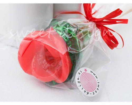 Rosa de caramelo