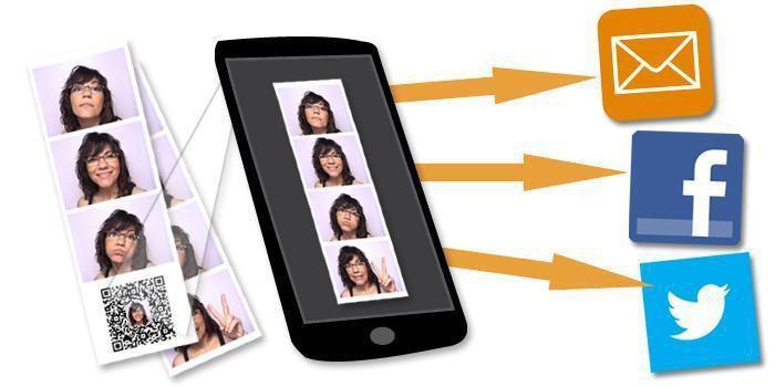 Código QR para compartir la imagen con amigos y familiares