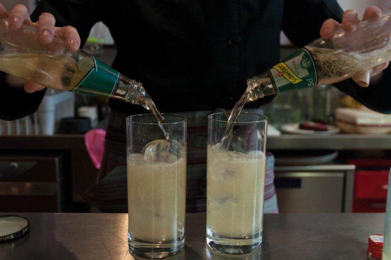 Chilcanos: Pisco, zumo de lima y gingerale