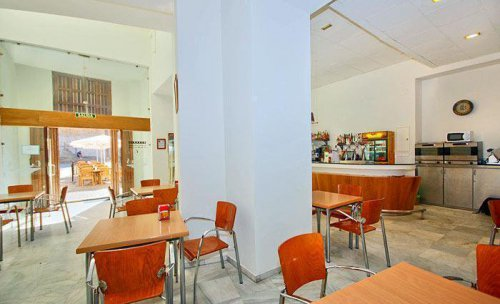 Interior Bar Cafeteria Campus