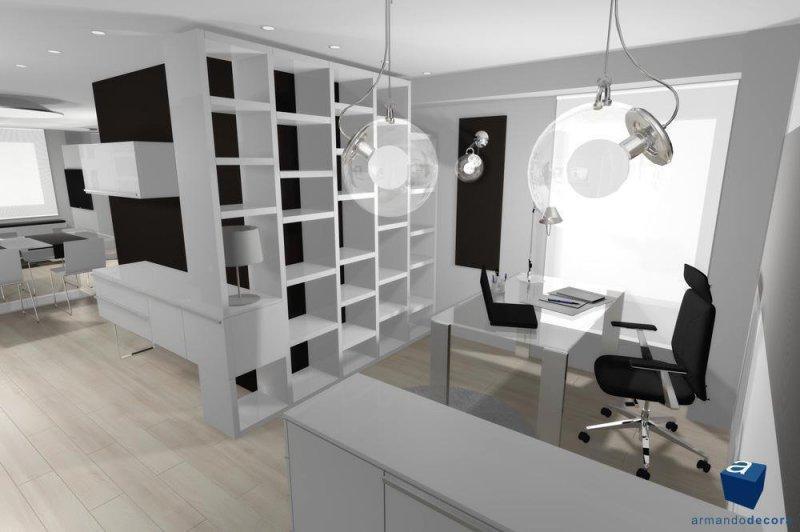 Proyecto 3D vivienda-estudio
