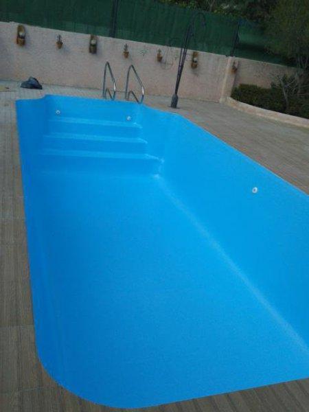 Reparacion de piscina con perdida de agua