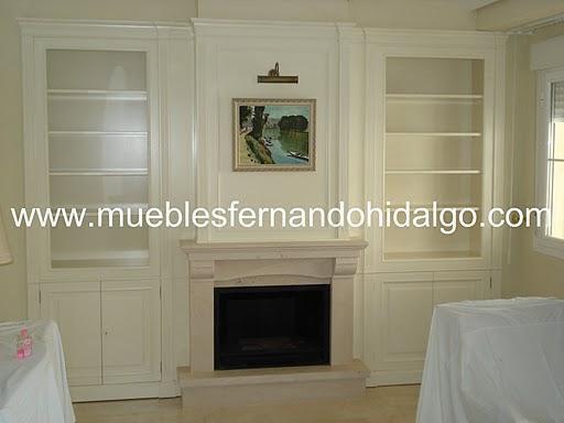 Muebles Fernando Hidalgo. Boiseries y librerías a medida.