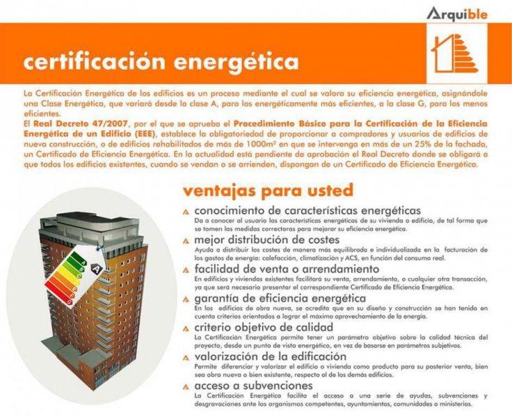 CERTIFICACION ENERGETICA 1