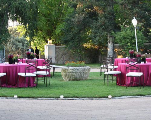 Jardin de estilo frances