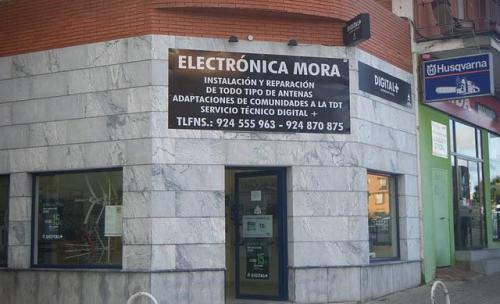 Electrónica Mora en Zafra