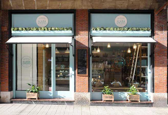 Sube Susaeta Interiorismo Sube Contract Bilbao reforma y diseño de tienda gourmet