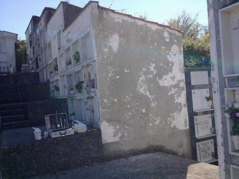 Rehabilitación de cementerio en San Román (Piloña)