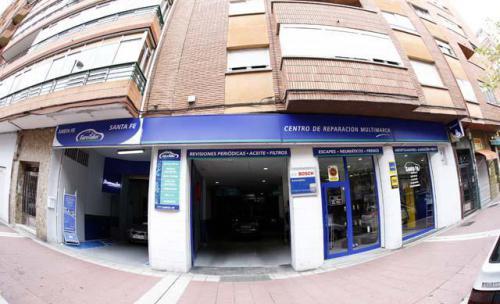 Talleres Santa Fe, taller mecánico en Valladolid