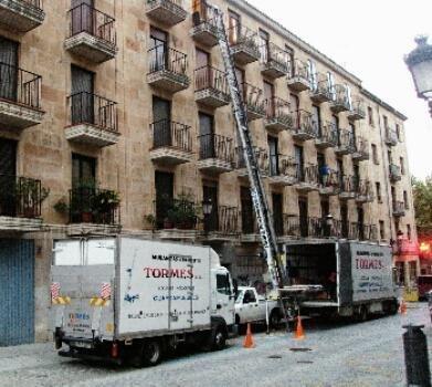 Mudanzas Tormes, mudanzas desde Salamanca