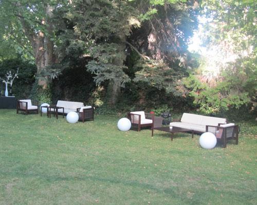 Zona de sofas
