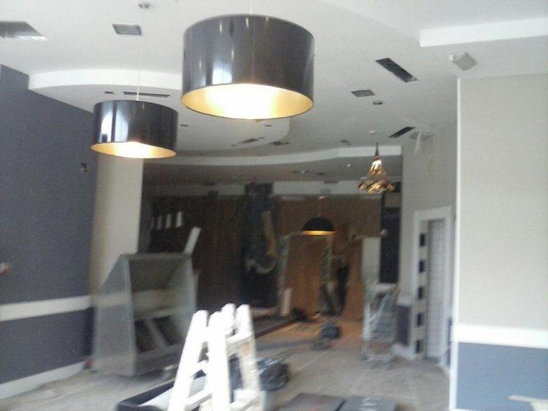 reforma  de  restaurante  la  mafia     pladur  carpinteria  y  pintura