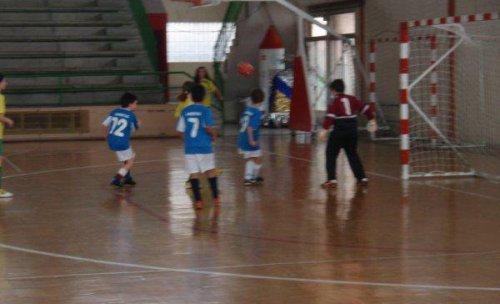 fotografia de un partido de la temporada 09-10 equipo benjamin