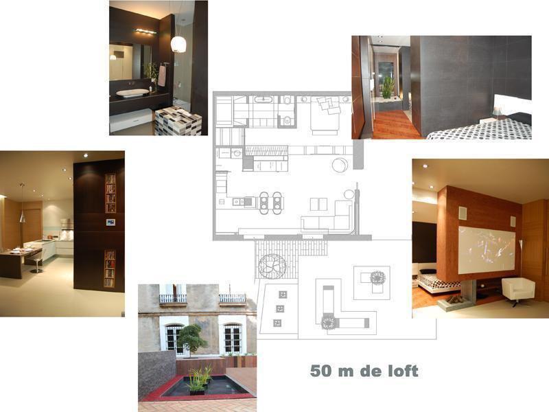 LOFT 50 m2 Presentado en la Exposición de Casa Decor 2007 Valencia