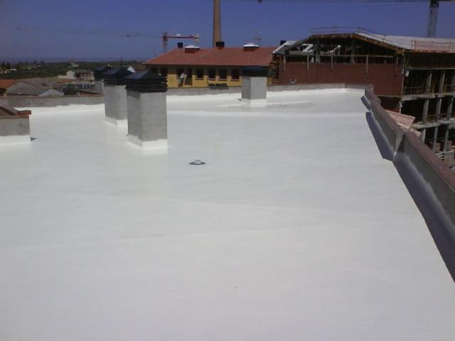 Impermeabilizacion con poliuretano liquido