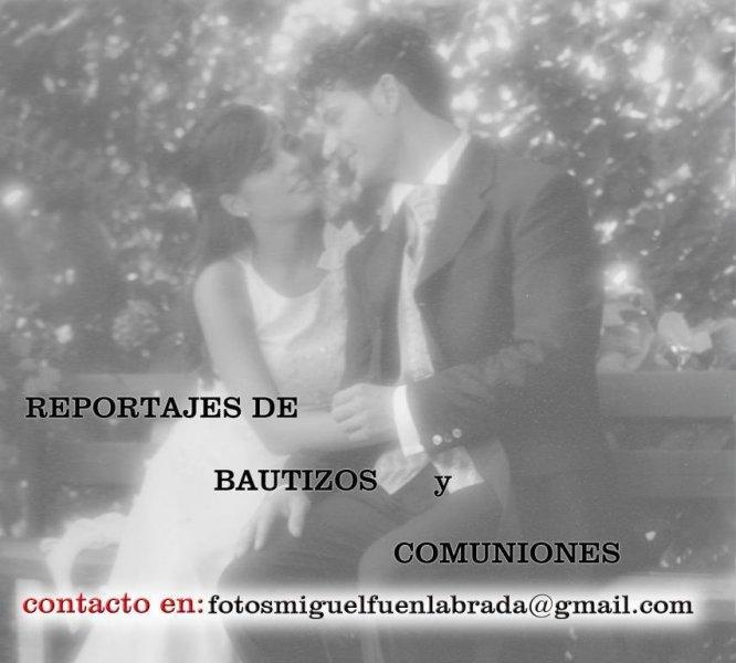 Reportajes de bodas y comuniones