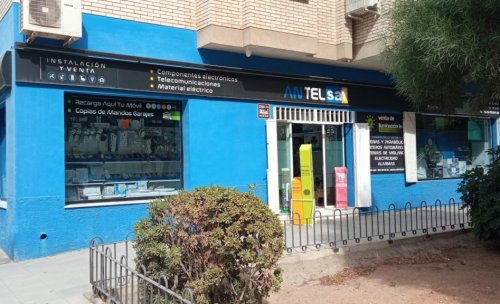 Tienda de Antelsat en Almería