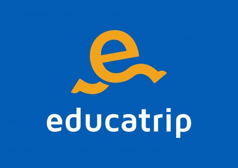 Logotipo de la empresa en azul