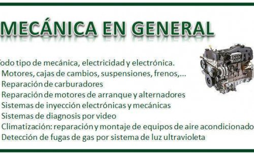 Mecánica general