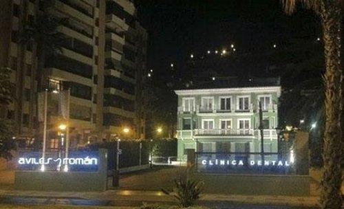 Exterior Noche Malaga
