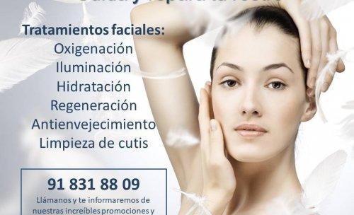 Disfruta de nuestros tratamientos faciales de belleza y luce un rostro bello, hidratado y luminoso