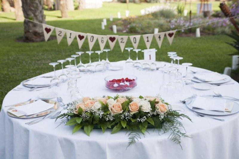 Foto centro mesa boda