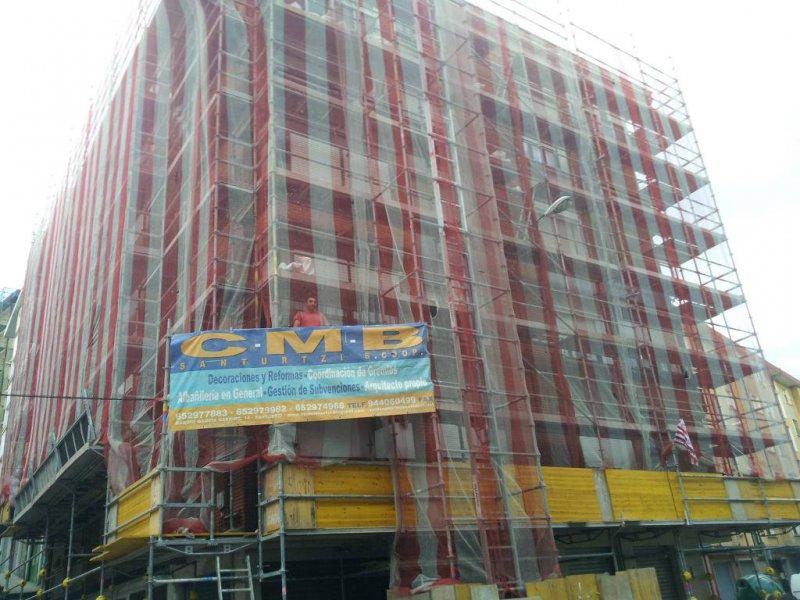 2013-Rehabilitación fachada Cristobal Colon nº1(Buenavista Portugalete)