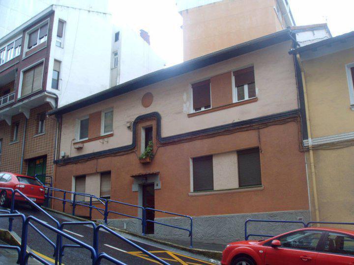 Rehabilitación fachada en C/ Buenavista nº8 (Portugalete) Antes