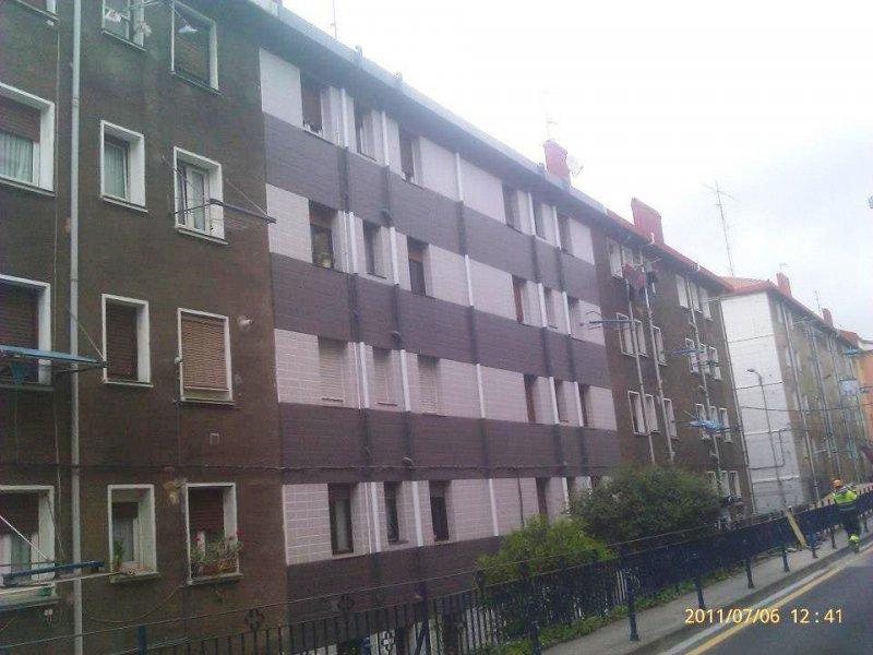 2011-Rehabilitación fachada en C/ Francisco Pizarro nº9 (Portugalete)