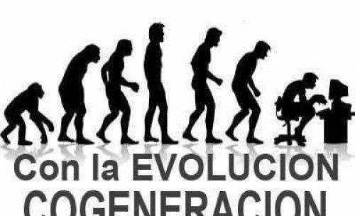 Con la Evolucion Cogeneracion