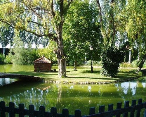 Lago de la finca