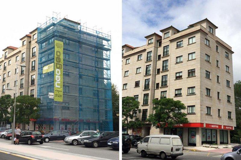 rehabilitacion y reforma de fachadas vigo, construccion, empresas construccion vigo