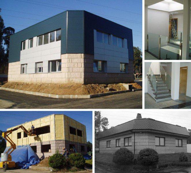 Neogeo, construcción y reformas en Pontevedra