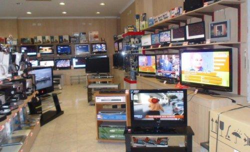 Exposición de Televisión, DVD, Equipos Hifi, Cámaras