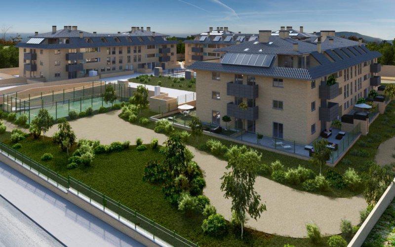 Proyecto de 81 viviendas en Boadilla del Monte