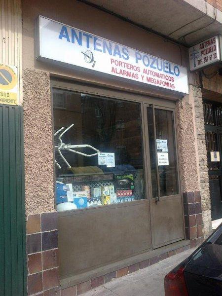 Antenas Pozuelo, Instalador Autorizado en toda la Comunidad de Madrid.