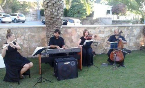 Cuarteto musicos cocktail Casa Paulino Elda Petrer
