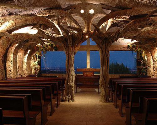 Ermita con vistas al montseny