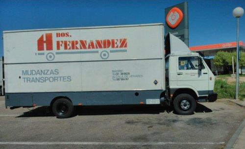 Camión de Mudanzas Fernández