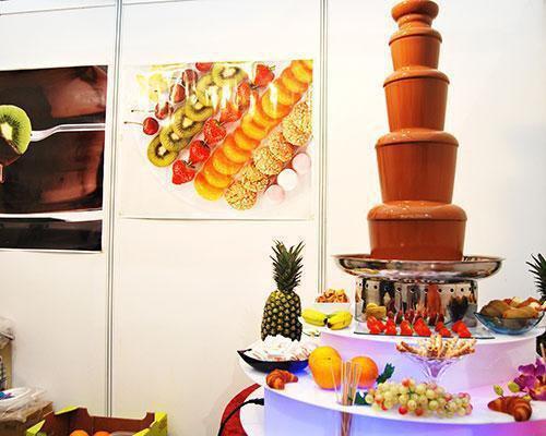 Fuentes de chocolate chocofruit
